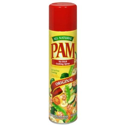 óleo em spray pam